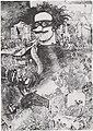 René De Coninck.Zelfportret met masker.jpg