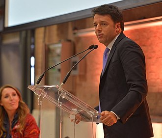 Matteo Renzi - Prime Minister Renzi speaks at Ca' Foscari University, Venice