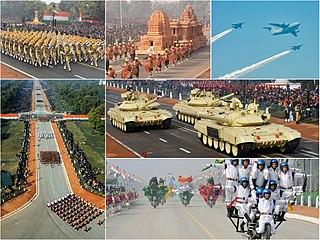 Delhi Republic Day parade Parade marking the Republic Day celebrations in India