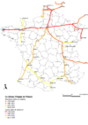 Französisches Telegrafen-Netzwerk ab 1793