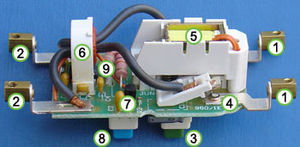 Internal mechanism of RCD