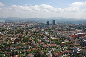 Etiler - Aerial view of Etiler