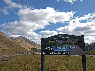 Argyll Forest Park - Rest and be thankfull - geograph.org.uk - 808103