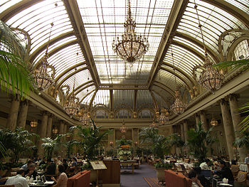 The restaurant in The Palace Hotel (37.7880° -...