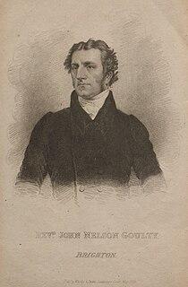 John Nelson Goulty English pastor