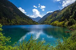 Rhinoceros Lake, Jiuzhaigou Valley.jpg