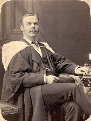 Richard Birdsall Rogers - Richard B. Rogers' McGill University graduation photo, 1878.