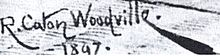 Richard Caton Woodville, Jr. (signature - 1897).jpg