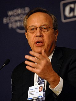 Richard Levin at the India Economic Summit 2008.jpg