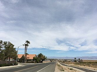 Ridgecrest, California - College Heights Blvd., Ridgecrest