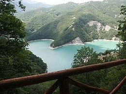 Lago di ridracoli wikipedia - Ristorante del lago bagno di romagna ...
