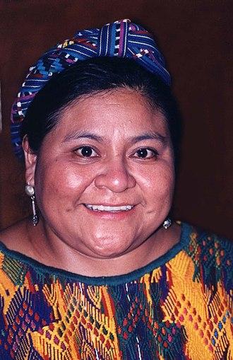 Rigoberta Menchú - Menchú in 1998