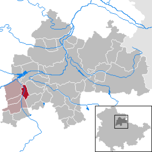Ringleben, Sömmerda - Image: Ringleben in SÖM