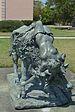 Ringling Museum Lygea tied to the bull by Giuseppe Moretti Sarasota Florida 2.jpg