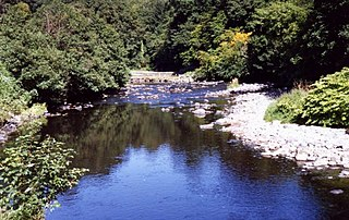 River Roe River in Northern Ireland