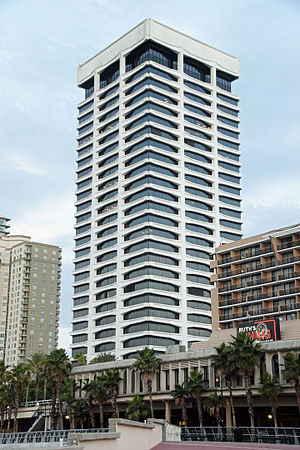 Downtown Jacksonville - Riverplace Tower located in Southbank