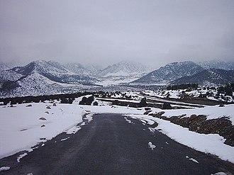 Tari Mangal - Road From Ali Mangal Post to Tari Mangal