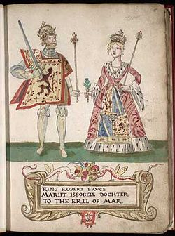 Robert i and isabella of mar