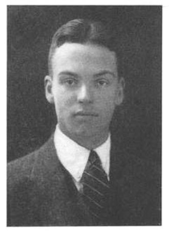 Robert Maynard Hutchins - Hutchins at Yale in 1921.