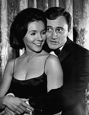 Kathryn Hays - Hays with Robert Vaughn in The Man From U.N.C.L.E. (1965).