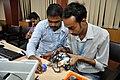 Robot Building Session - Workshop on Organising Indian and World Robot Olympiad - NCSM - Kolkata 2016-03-08 2385.JPG