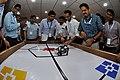 Robot Testing Session - Workshop on Organising Indian and World Robot Olympiad - NCSM - Kolkata 2016-03-07 2313.JPG