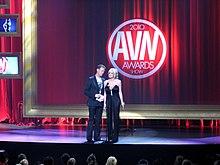 Siffredi con Stormy Daniels agli AVN Awards nel gennaio 2010