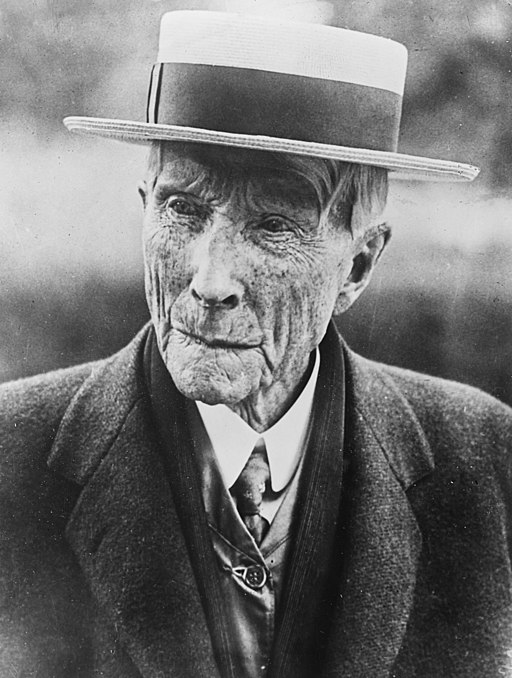 Rockefeller, John D, 1922, Agence Rol, BNF Gallica (cropped)