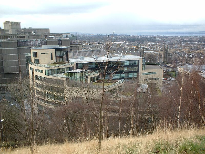 Rockstar North building, shot from hill.jpg
