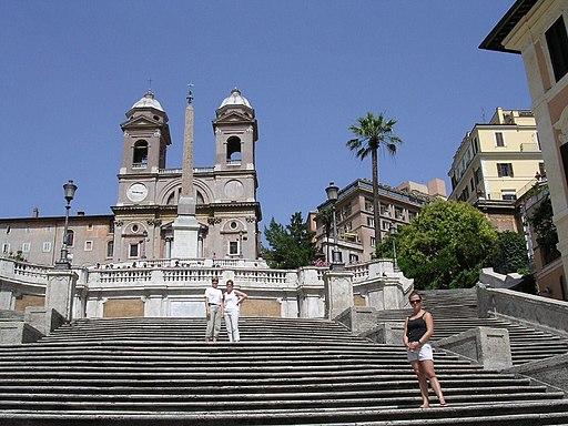 Roma-scalinata trinita dei monti
