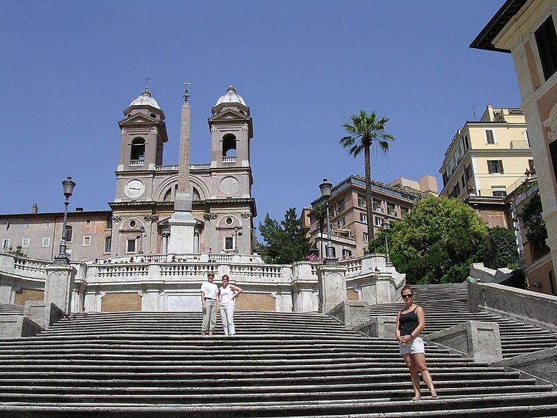File:Roma-scalinatà trinità dei monti.jpg