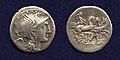 Roman Republic denarius Claudius Pulcher.jpg