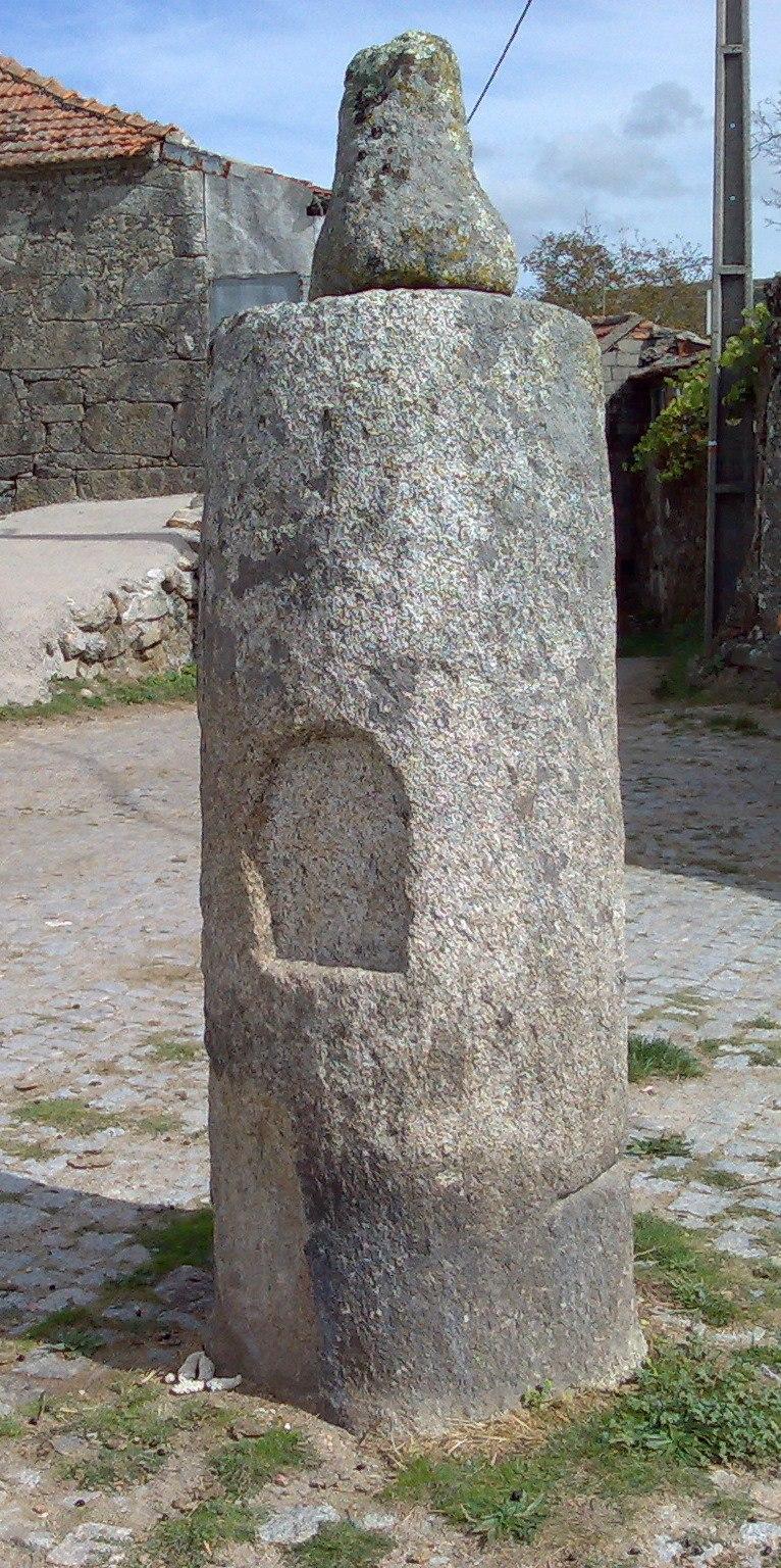 Roman milestone rabagao portugal