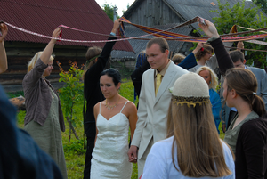Baltic neopaganism - Romuvan weddings.