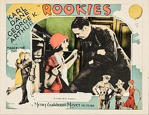 Rookies (film) - Lobby card