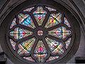 Rosace de la façade ouest. de la basilique du mont Roland.jpg