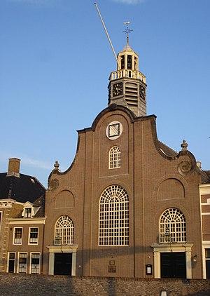 Pilgrim Fathers Church - The façade of the church in 2007