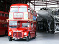 Routemasters with Concorde, Showbus 2004 (1).jpg