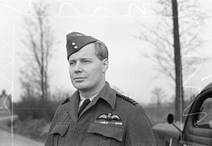 Peter Wykeham - Group Captain P. G. Wykeham-Barnes c.1944