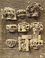 Royal Architectural Museum. Plaster Casts (Capitals) from Ely Cathedral (3611565244).jpg