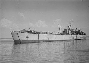 HMAS LST 3014 - HMAS LST 3014 in 1947