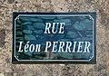 Rue Léon Perrier (Belley), panneau de rue.jpg