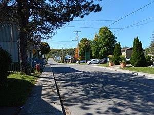 Chertsey, Quebec - Image: Rue de l'Église, Chertsey