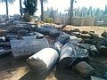 Ruinas romanas en los jardines romanos de Mérida.jpg