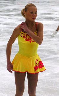 Julia Obertas Russian pair skater