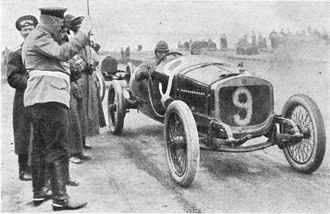 Russian Grand Prix - The beginning of the 1913 race