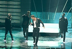 "Alexey Vorobyov - Vorobyov from performing ""Get You"" at Eurovision Song Contest 2011 in Düsseldorf"