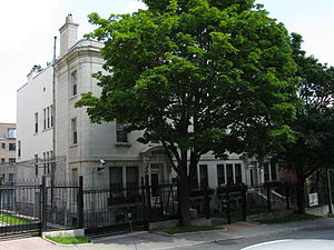 Canada–Russia relations - Russian consulate-general in Montreal, Quebec, Canada.