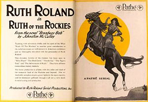 Ruth of the Rockies - Advertisement