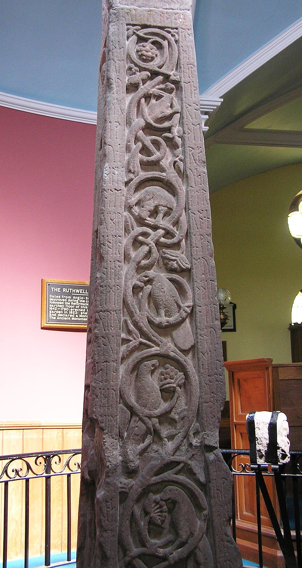 Ruthwell Cross - west face
